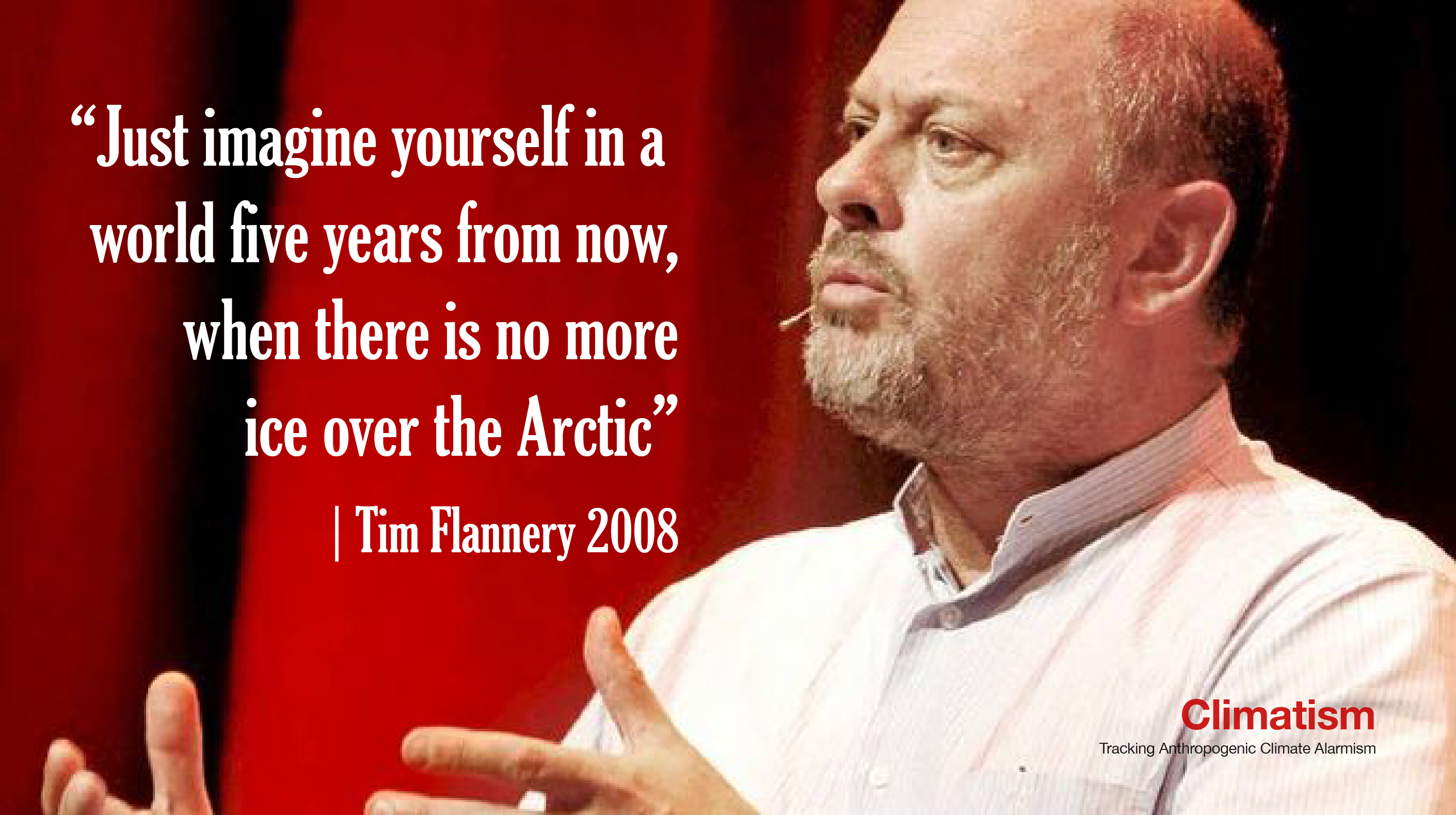 tim flannery - ice-free arctic - climatism