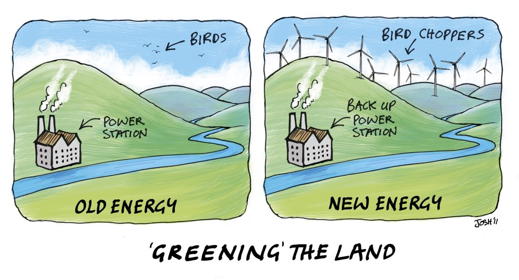 Greening The Land (high res) - Cartoons By Josh