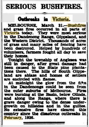 01 Apr 1936 - SERIOUS BUSHFIRES. - Trove.png