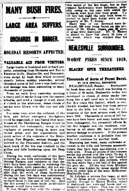 01 Feb 1926 - MANY BUSH FIRES. - Trove.png