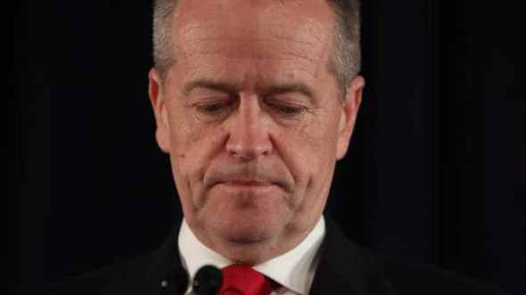 Shorten ALP - AUSTRALIAN federal electin 2019 LOSS