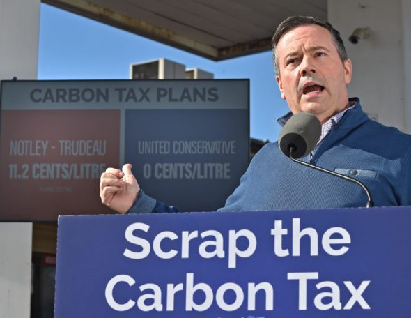 Watch- UCP Leader Jason Kenney on the federal carbon tax | Edmonton Journal