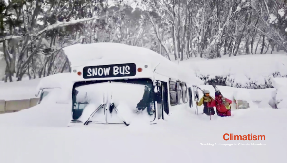 'END OF SNOW' UPDATE - Natural Snow Depth In Australia The Highest In Two Decades