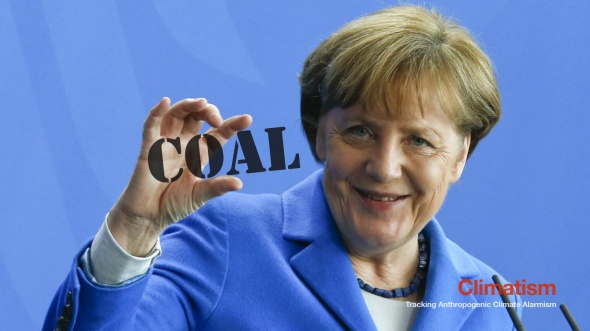 ANGELA MERKEL - The New Climate Change 'Denier'