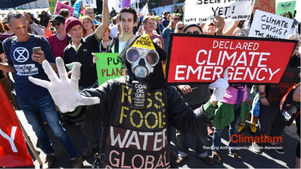 Climate Cult Marxist Left - CLIMATISM