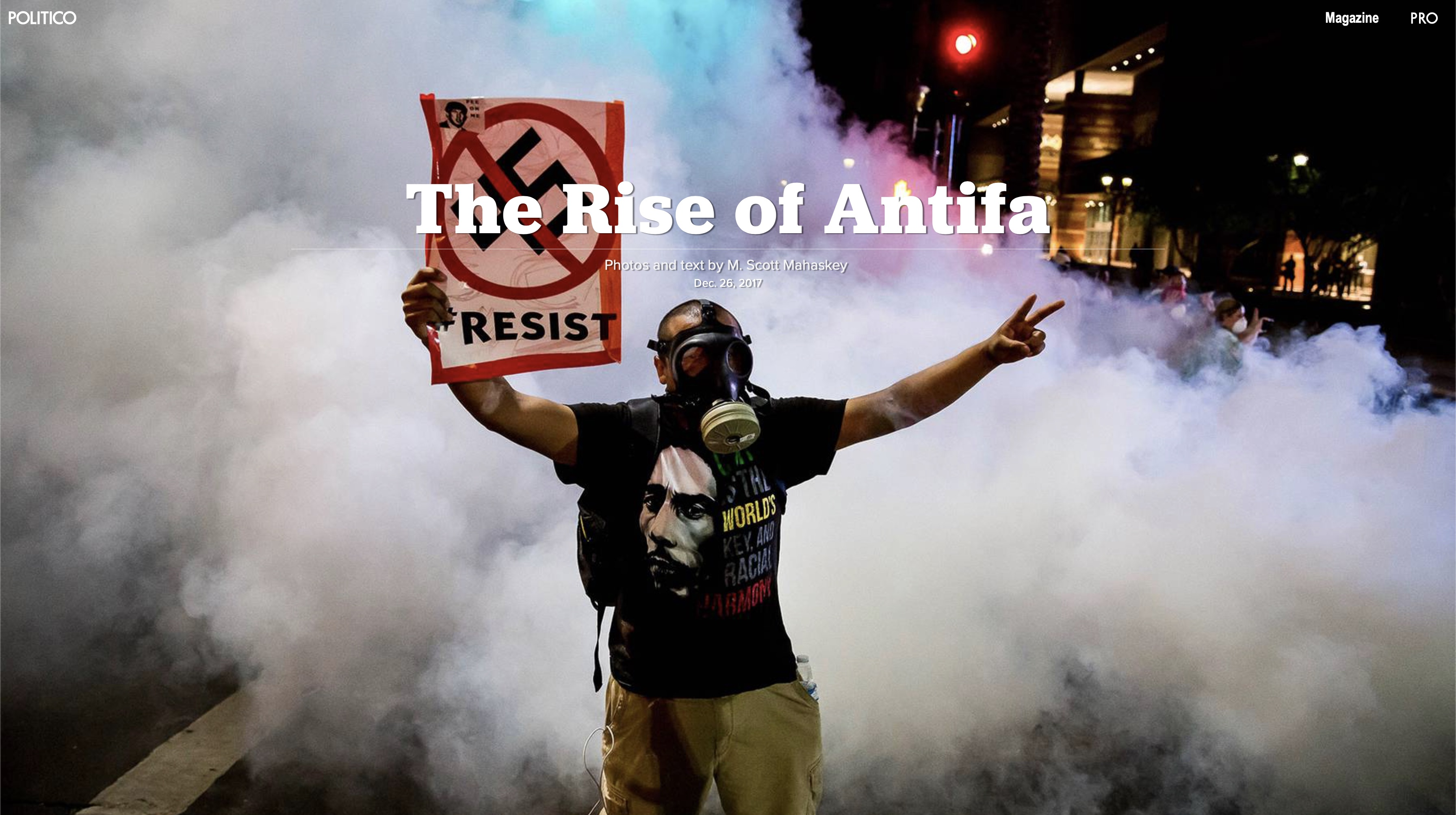 Photos- The Rise of Antifa